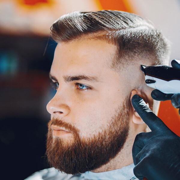 Hair cuts with beard grooming