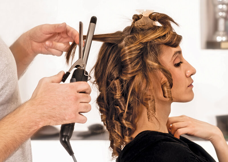 In home hairstylist